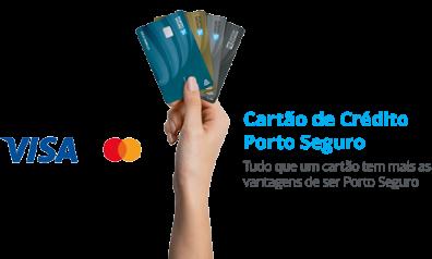 Cartão de Crédito Porto Seguro   Tudo que um cartão tem mais as vantagesn de ser Porto Seguro